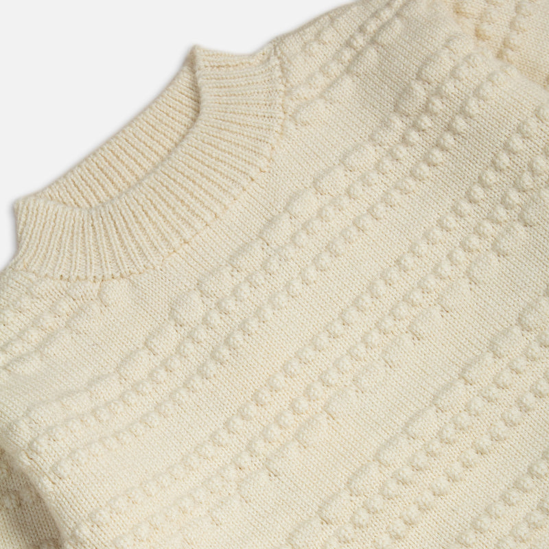 Haston Bobble Knit In Arran British Wool