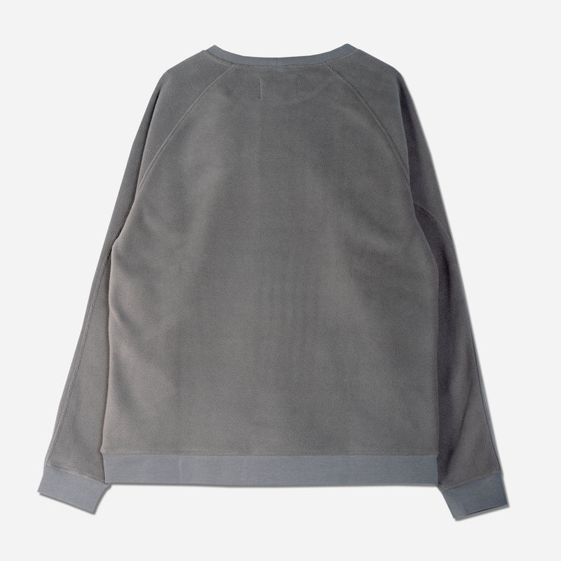 Haymarket Sweat in Heather Grey Polar Fleece