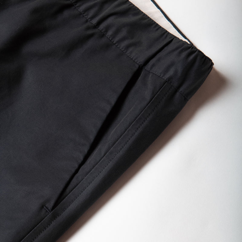 Inverness Trouser In Navy Water Repellent Cotton pocket detail