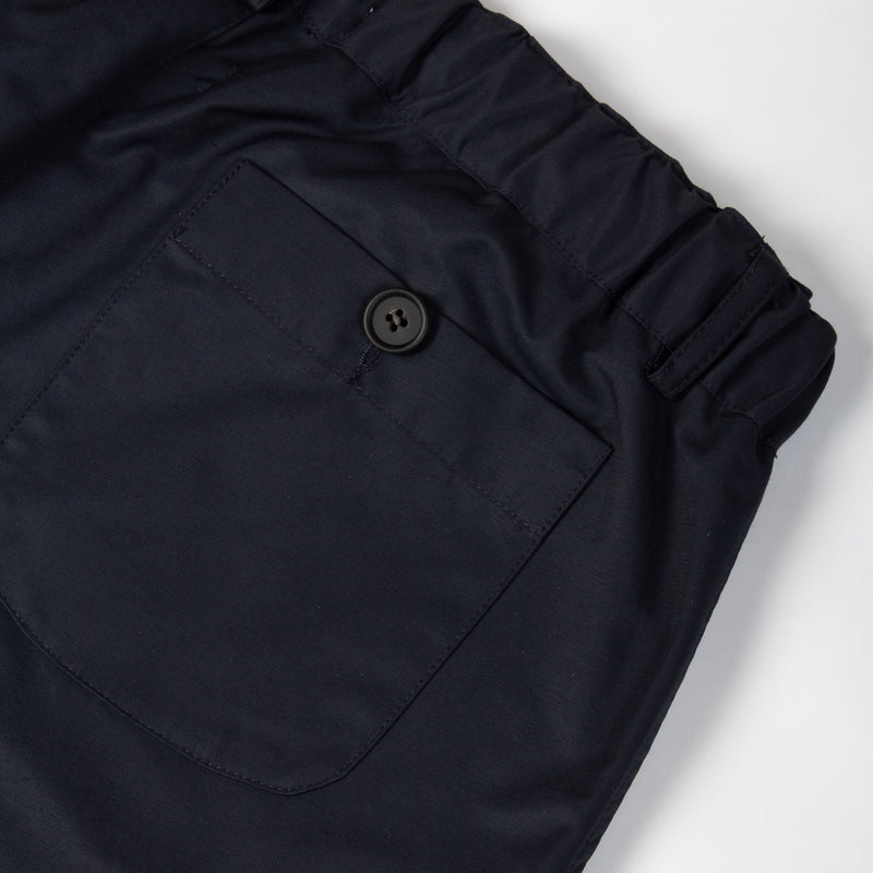 Inverness Trouser In Navy Water Repellent Cotton