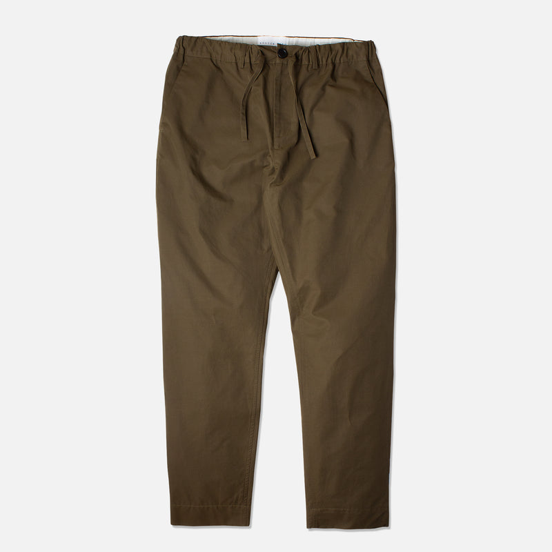 Kestin Hare Inverness Trouser Olive Water Repellent Cotton