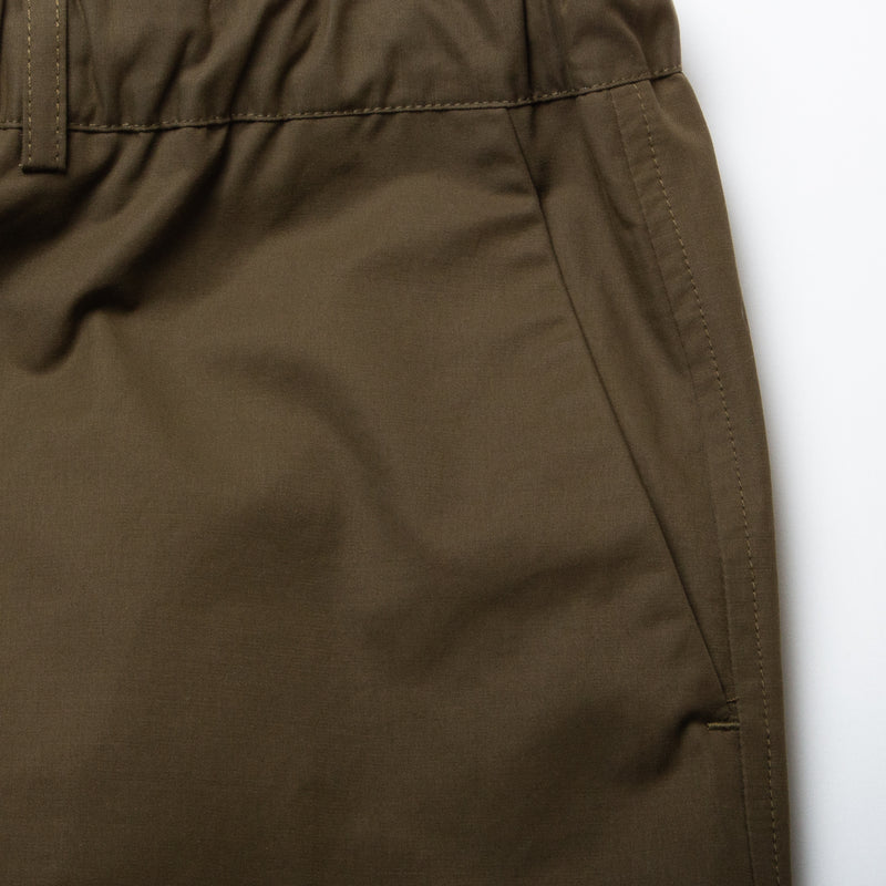Kestin Hare Inverness Trouser Olive Water Repellent Cotton pocket detail