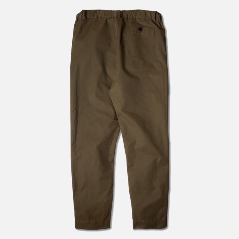 Kestin Hare Inverness Trouser Olive Water Repellent Cotton back view
