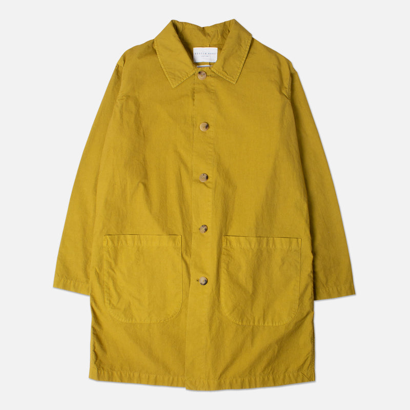 Kestin Hare Shop Coat 10 Year Aged Garment Dyed Cotton