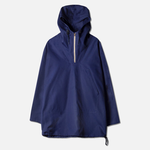 Nevis Smock In Blue Water Repellent Ventile