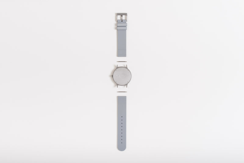 Instrmnt K-Series In Light Grey/Silver back view