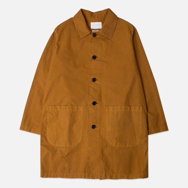 Kestin Hare Shop Coat 21 Year Aged Garment Dyed Cotton