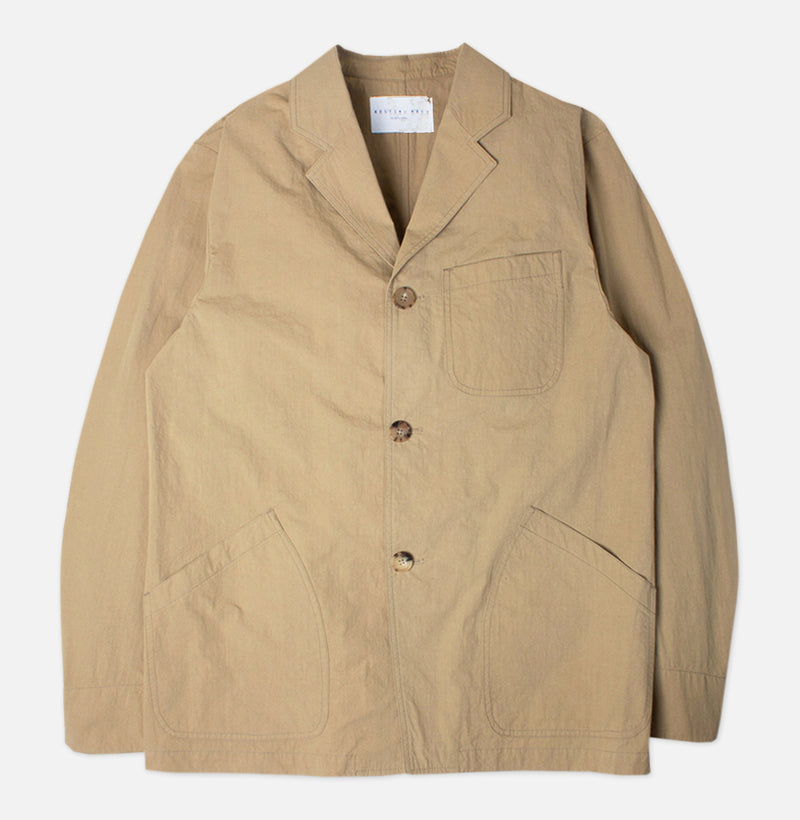 Kestin Hare Stac Blazer In Clay Water Repellent Cotton/Nylon