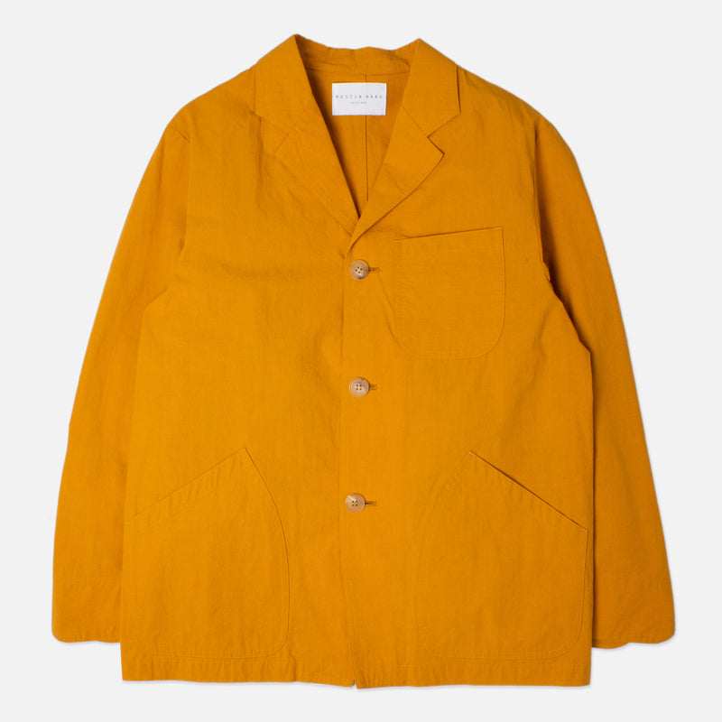 Kestin Hare Stac Blazer Ochre Water Repellent Cotton/Nylon