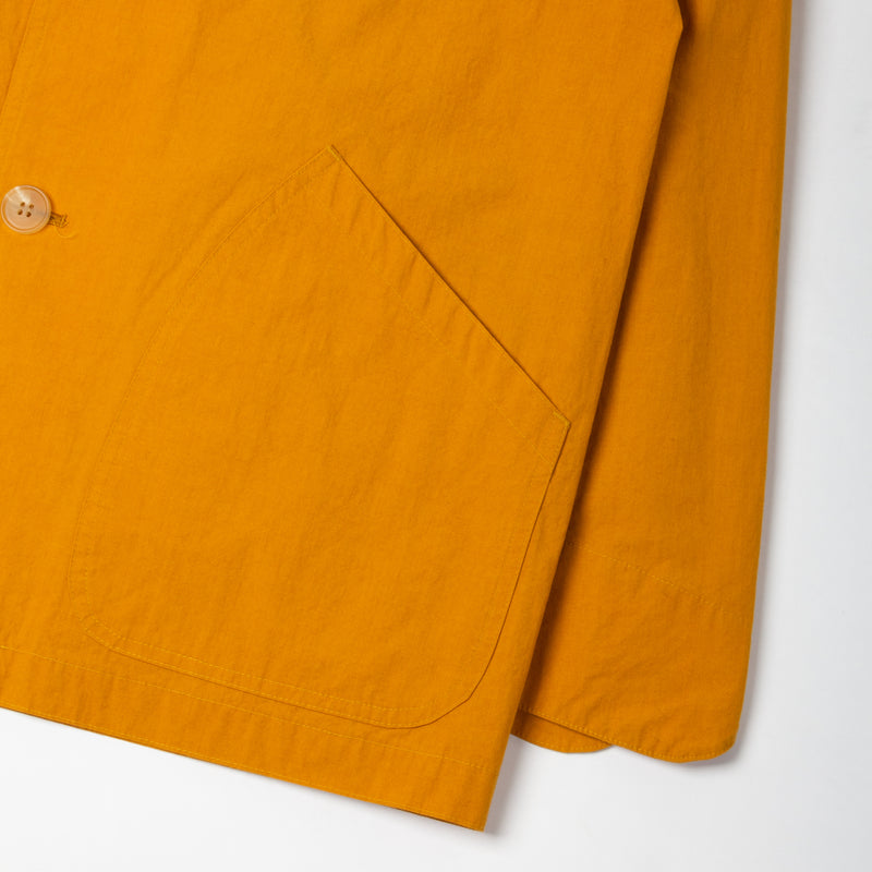 Kestin Hare Stac Blazer Ochre Water Repellent Cotton/Nylon pocket sleeve detail