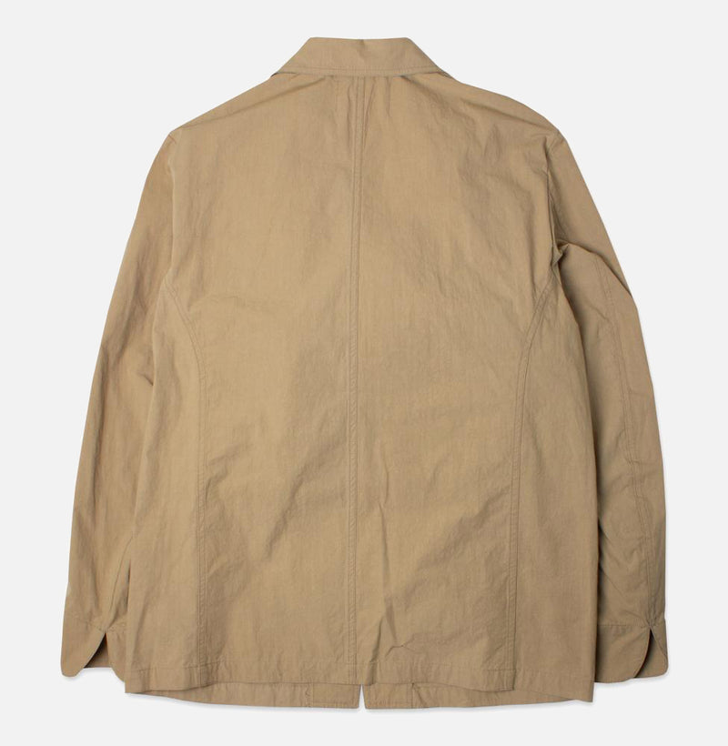 Kestin Hare Stac Blazer In Clay Water Repellent Cotton/Nylon back view