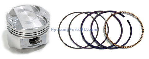 DAELIM PISTON WITH RINGS SET VL125 VJ125 DAYSTAR VJ125 VL125