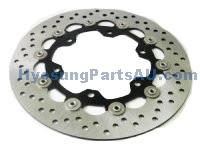 GENUINE FRONT RIGHT BRAKE DISC ROTOR GV650 ST7 GV650 ST7