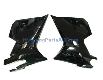 GENUINE BLACK LOWER FAIRINGS PAIR GT125R GT250R GT650R GT125R GT250R GT650R