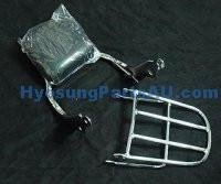 HYOSUNG AQUILA CARRY RACK & BACK REST GV650 GV650