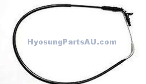 GENUINE HYOSUNG THROTTLE CABLE GT125N GT250N GT125 GT250