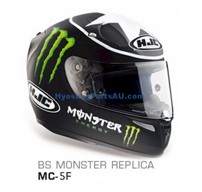 HJC BS MONSTER REPLICA MC-5F RPHA