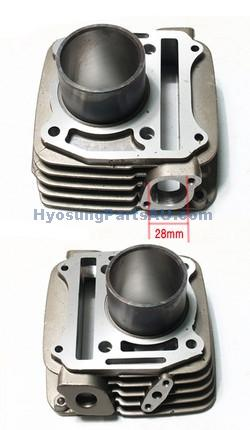 HYOSUNG GENUINE CYLINDER FRONT GT250 GT250R NEW GT250 GT250R
