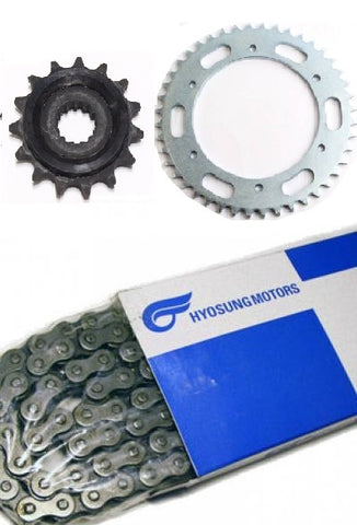 HYOSUNG CHAIN SPROCKET KIT GT650 GT650R