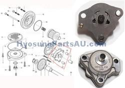 HYOSUNG GENUINE OIL PUMP ASSEMBLY GT250 GT250R GV250 GT250 GT250R GV250