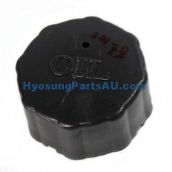 GENUINE OIL TANK CAP HYOSUNG SD50 SB50 FITS EZ100 EZ100 SB50 SD50