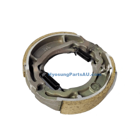 GENUINE HYOSUNG REAR BRAKE DRUM SHOES HYOUSNG TE100 EZ100 SF100 EZ100 SF100 TE100