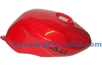 GENUINE CARB FUEL GAS TANK RED ALL GT MODEL GT125 GT125R GT250 GT250R GT650
