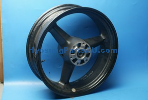 GENUINE HYOSUNG REAR WHEEL BLACK GV650 GV650