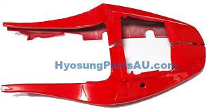 GENUINE HYOSUNG RED REAR PAIR SIDE COVER SET ALL GT GT125 GT125R GT250 GT250R GT650