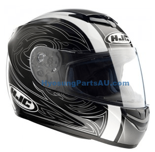 HJC HELMET (CL-ST GUARDIAN MC-5) HJC