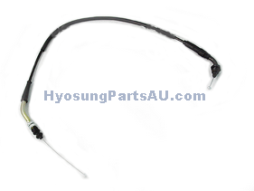 THROTTLE CABLE HYOSUNG GT650 (P/N: 58300HN9104) GT650 GT650S