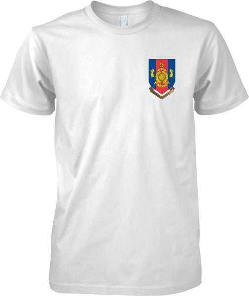 1 Assault Group AGRM - Royal Marines Official T-Shirt Colour