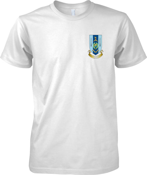40 Commando Badge - Royal Marines Official T-Shirt Colour