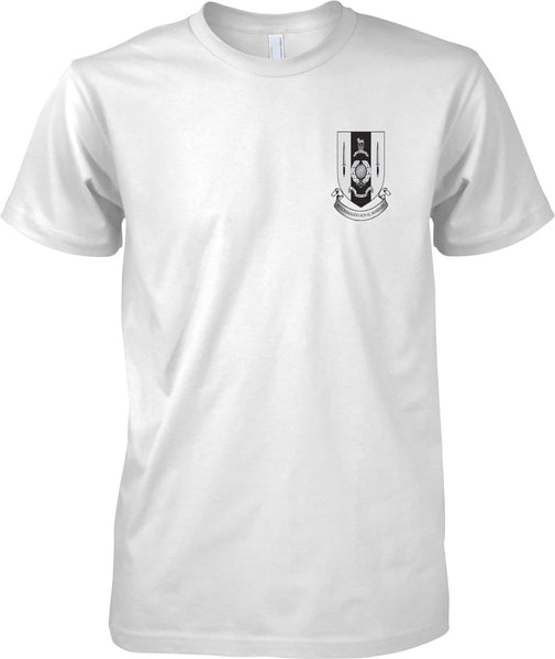 40 Commando Badge - Royal Marines Official T-Shirt Mono