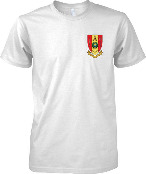 43 Commando Fp Group Badge - Royal Marines Official T-Shirt Colour