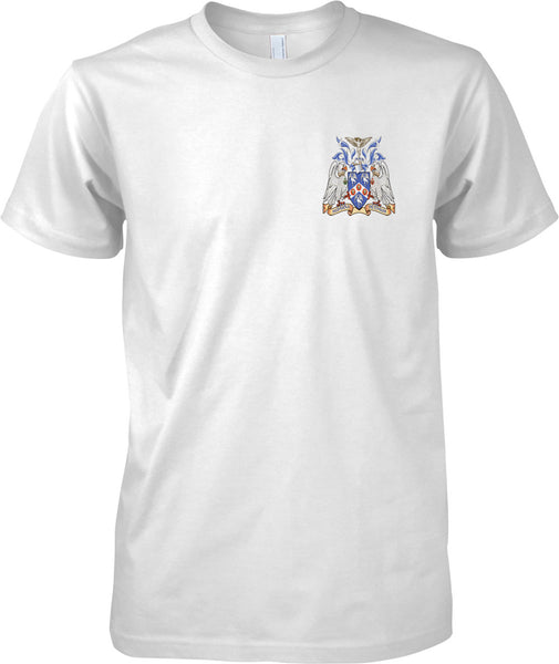 Cranwell College Coat of Arms - RAF Royal Air Force Official T-Shirt Colour