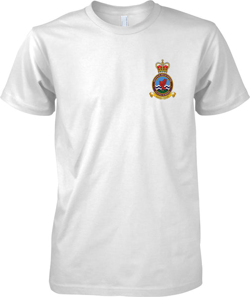 Defense Helicopter DHFS - RAF Royal Air Force Official T-Shirt Colour