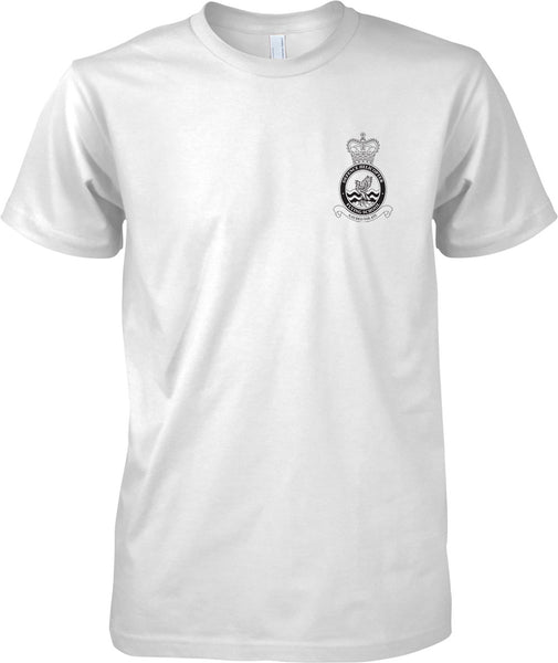 Defense Helicopter DHFS - RAF Royal Air Force Official T-Shirt Mono