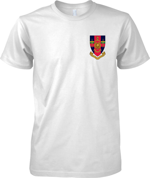 Hasler Company Badge - Royal Marines Official T-Shirt Colour