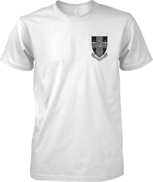 Hasler Company Badge - Royal Marines Official T-Shirt Mono