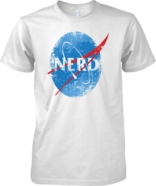 NERD - NASA inspired  - Mens T Shirt