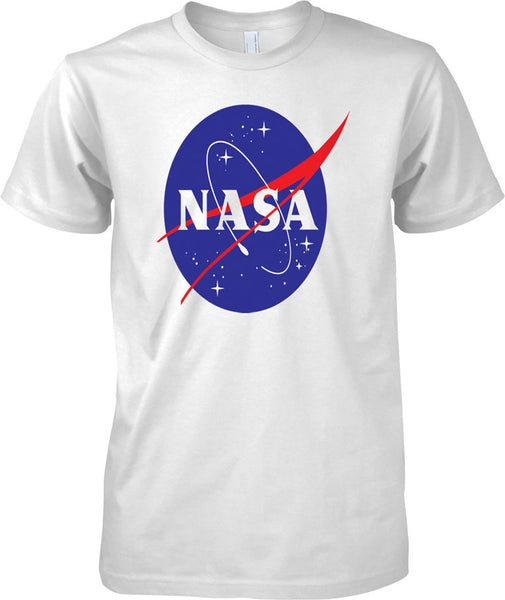 NASA Logo - National Aeronautics and Space Administration - Mens T Shirt