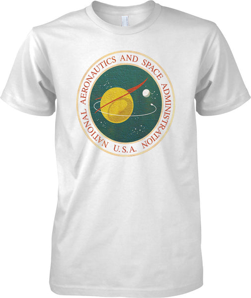 National Aeronautics and Space Administration - NASA USA Insignia - Mens T Shirt