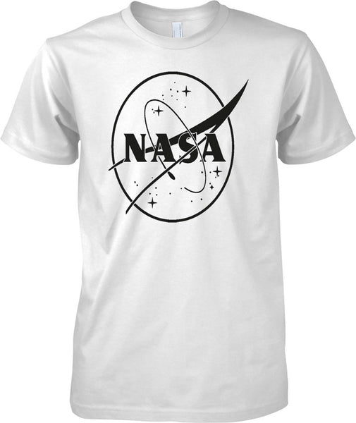 NASA B&W Logo - Mens T Shirt