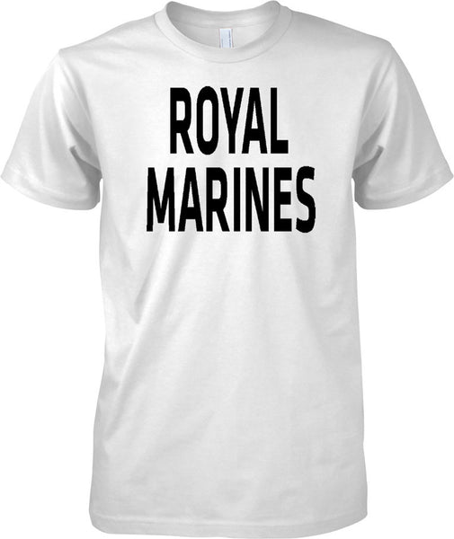 Licensed MOD -  Royal Marines - Text - Mens T Shirt