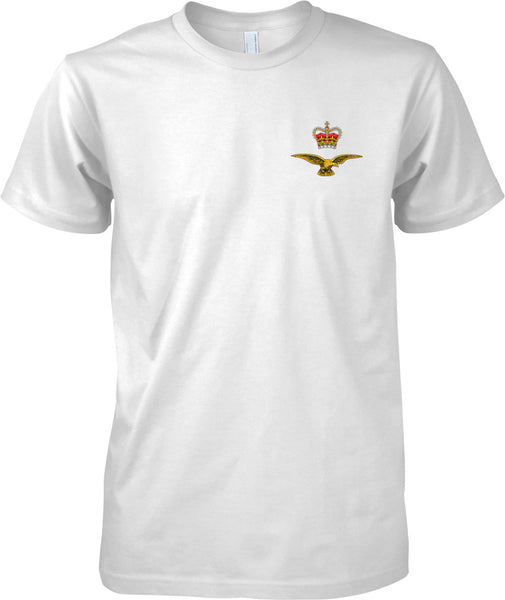Eagle Crown - RAF Royal Air Force Official T-Shirt Colour