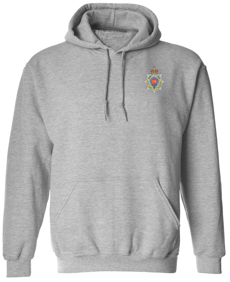 10 Regiment Royal Corps of Transport embroidered Hoodie