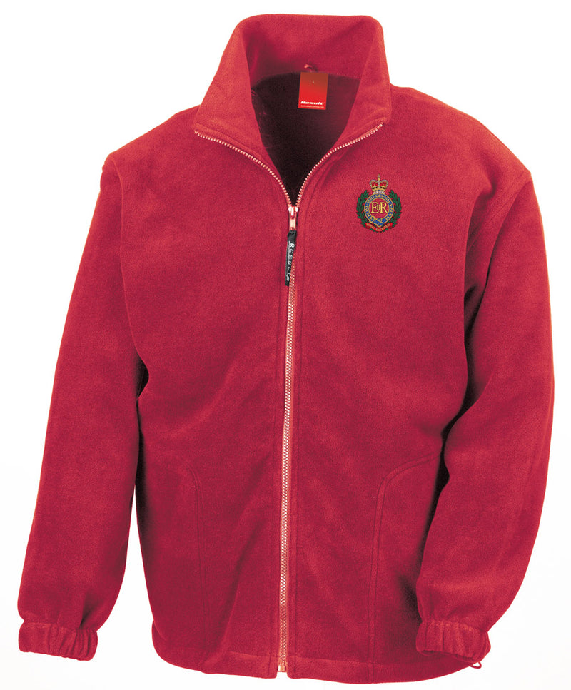 No 100 RAF Squadron Embroidered Logo Official RAF Royal Air Force Full Zip Fleece by Military Online