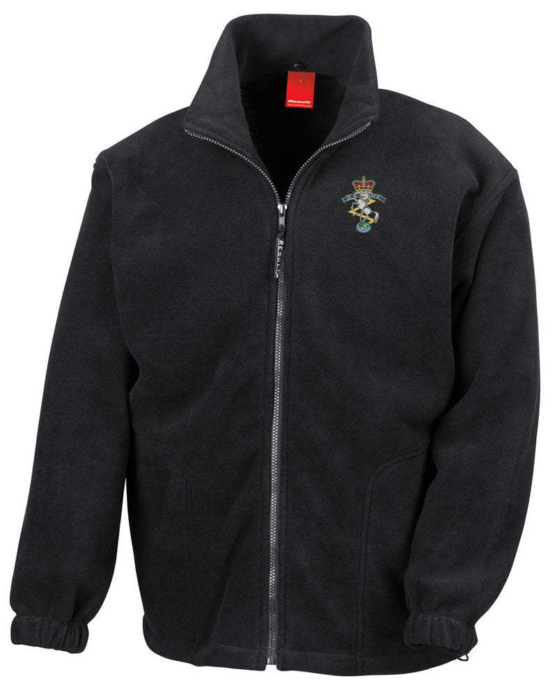 Military Online The Mercian Regiment Embroidered Logo Official British Army Full Zip Heavyweight Fleece Jacket
