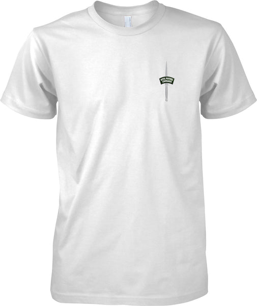 Commando Dagger - Royal Marines Official T-Shirt Colour